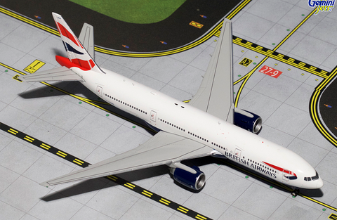 1/400 Gemini Jets British Airways Boeing 777-200ER Diecast Model Airplanes - RW Hobbies