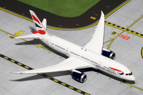 1/400 GeminiJets British Airways Boeing 787-8 Dreamliner Diecast Model - RW Hobbies