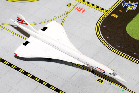 1/400 Gemini Jets British Airways Aerospatiale Concorde Diecast Model Airplanes - RW Hobbies