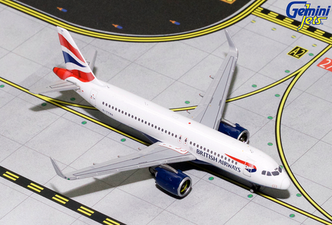 1/400 GeminiJets British Airways Airbus A320neo Diecast Model - RW Hobbies