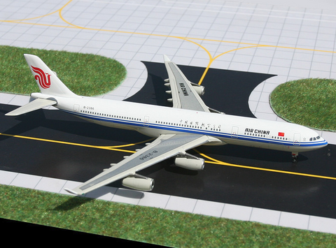 1/400 Gemini Jets Air China Airbus A340-300 Diecast Model Airplanes - RW Hobbies