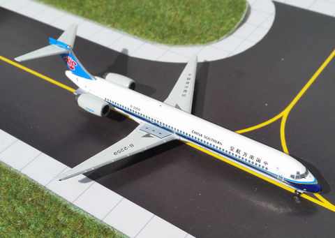 1/400 Gemini Jets China Southern Airlines McDonnell Douglas MD-90 Diecast Model Airplanes - RW Hobbies