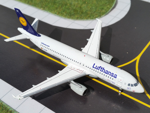 1/400 Gemini Jets Lufthansa Airbus A320-200 Diecast Model Airplanes - RW Hobbies