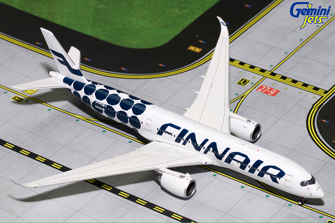 1/400 GeminiJets Finnair Airbus A350-900 Diecast Model - RW Hobbies