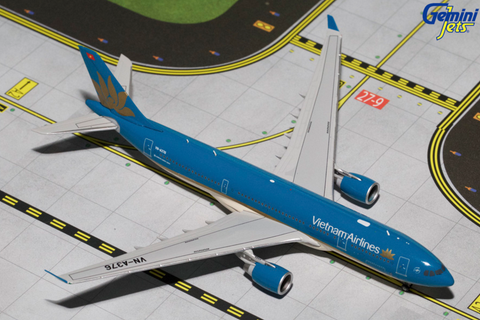 1/400 Gemini Jets Vietnam Airlines Airbus A330-300 Diecast Model Airplanes - RW Hobbies