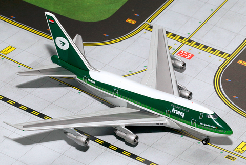 1/400 GeminiJets Iraqi Airways Boeing 747-SP Diecast Model - RW Hobbies