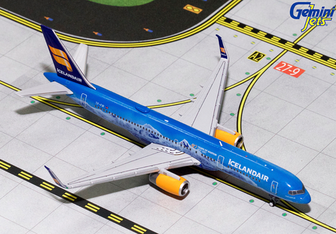 "1/400 GeminiJets Icelandair ""80th Anniversary"" Boeing 757-200w Diecast Model - RW Hobbies"