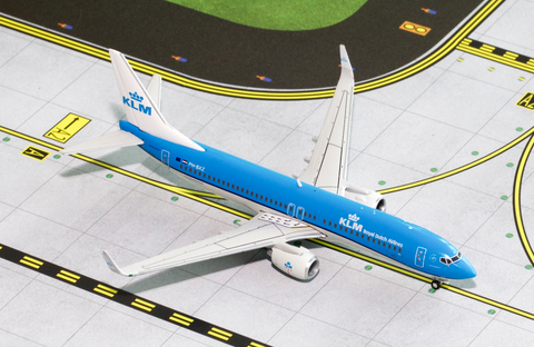 1/400 GeminiJets KLM Royal Dutch Airlines Boeing 737-800w Diecast Model - RW Hobbies