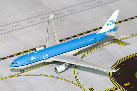 1/400 GeminiJets KLM Royal Dutch Airlines Airbus A330-200 Diecast Model - RW Hobbies