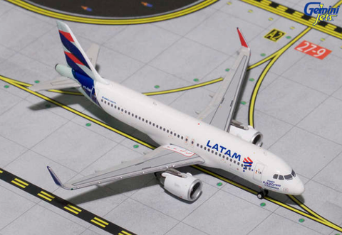 1/400 Gemini Jets LATAM Airbus A320-200neo Diecast Model Airplanes - RW Hobbies