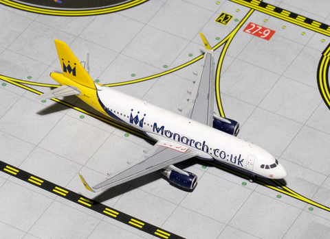 1/400 Gemini Jets Monarch Airlines Airbus A320-200 Diecast Model Airplanes - RW Hobbies
