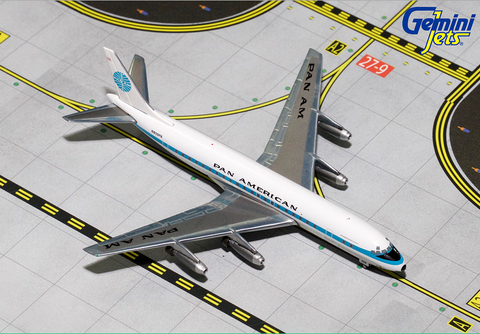 1/400 GeminiJets Pan Am Douglas DC-8-33 Diecast Model - RW Hobbies