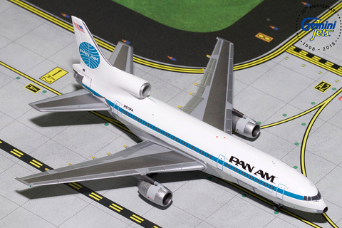 1/400 GeminiJets Pan Am Lockheed L-1011-500 Tristar Diecast Model