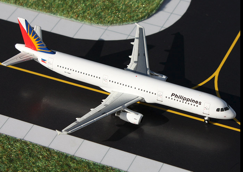 1/400 GeminiJets Philippines Airlines Airbus A321 Diecast Model - RW Hobbies