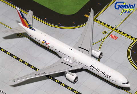 1/400 Gemini Jets Philippines Airlines Boeing 777-300ER Diecast Model Airplanes - RW Hobbies