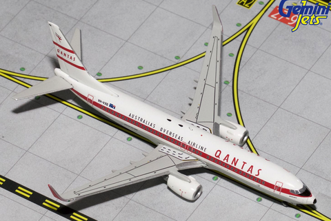 "1/400 Gemini Jets Qantas Airways ""Retro Roo II"" Boeing 737-800w Diecast Model Airplanes - RW Hobbies"