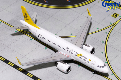 1/400 GeminiJets Royal Brunei Airlines Airbus A320-200 neo Diecast Model