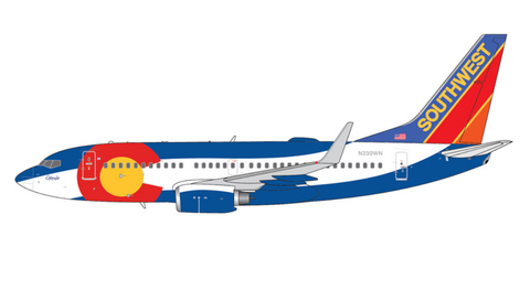1/400 GeminiJets Southwest Airlines Boeing 737-700 Diecast Model - RW Hobbies