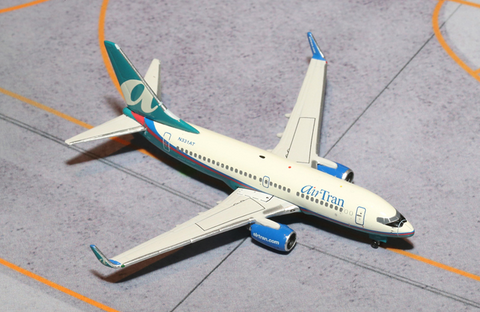 1/400 GeminiJets AirTran Airways Boeing 737-700 Diecast Model - RW Hobbies