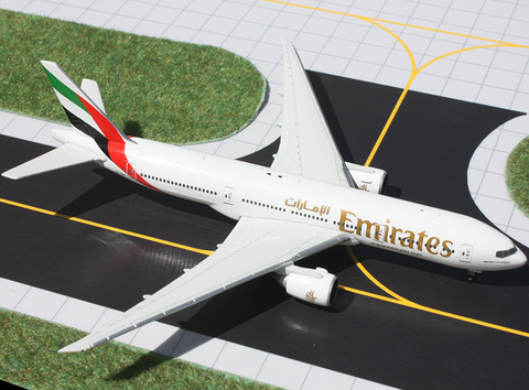 1/400 GeminiJets Emirates Airline Boeing 777-200LR Diecast Model - RW Hobbies
