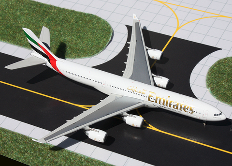 1/400 GeminiJets Emirates Airline Airbus A340-500 Diecast Model - RW Hobbies
