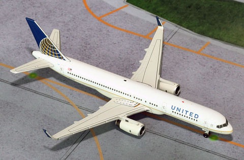 1/400 GeminiJets United Airlines Boeing 757-200w Diecast Model - RW Hobbies