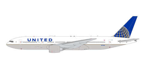1/400 GeminiJets United Airlines Boeing 777-200ER Diecast Model