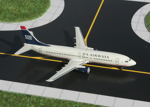 1/400 GeminiJets US Airways Boeing 737-400 Diecast Model - RW Hobbies