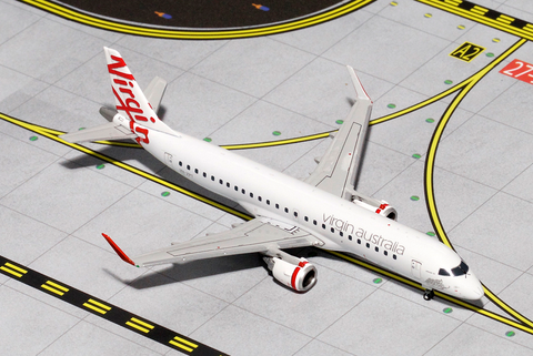 1/400 Gemini Jets Virgin Australia Embraer 190AR Diecast Model Airplanes - RW Hobbies