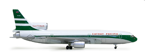 "1/500 Herpa Cathay Pacific ""60th Anniversary"" Lockheed Tristar L-1011-385 Diecast Model - RW Hobbies"