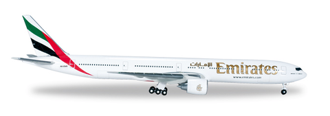 1/500 Herpa Emirates Airline Boeing 777-300ER Diecast Model - RW Hobbies