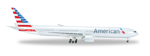"1/500 Herpa American Airlines Boeing 777-300ER ""N717AN"" Diecast Model - RW Hobbies"