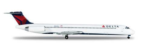 1/500 Herpa Delta Airlines McDonnell Douglas MD-88 Diecast Model - RW Hobbies
