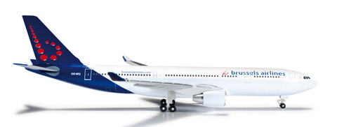 1/500 Herpa Brussels Airlines Airbus A330-200 Diecast Model - RW Hobbies