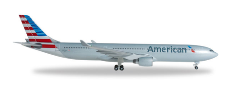 1/500 Herpa American Airlines Airbus A330-300 Diecast Model - RW Hobbies