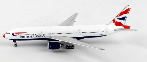 1/400 JC Wings British Airways Boeing 777-200ER Diecast Model - RW Hobbies
