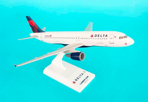 Skymarks Delta Airlines Airbus A320-200 1/150 Plastic Model - RW Hobbies