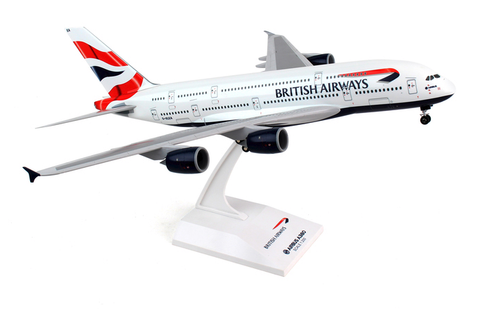 Skymarks British Airways Airbus A380-800 1/200 Plastic Model - RW Hobbies