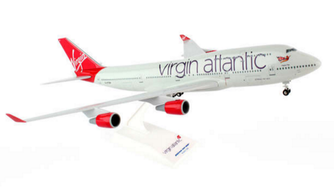 Skymarks Virgin Atlantic Boeing 747-400 1/200 Plastic Model - RW Hobbies