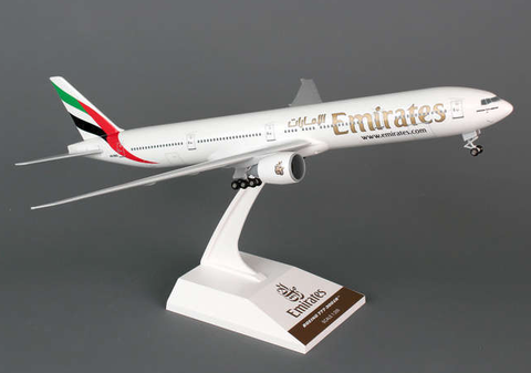 Skymarks Emirates Airline Boeing 777-300ER 1/200 Plastic Model - RW Hobbies