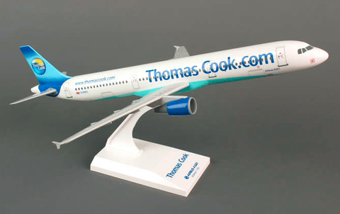 Skymarks Thomas Cook Airbus A321 1/150 Plastic Model - RW Hobbies