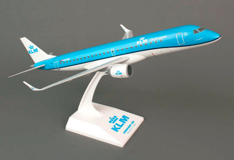 Skymarks KLM Royal Dutch Airlines Embraer ERJ-190 1/100 Plastic Model - RW Hobbies