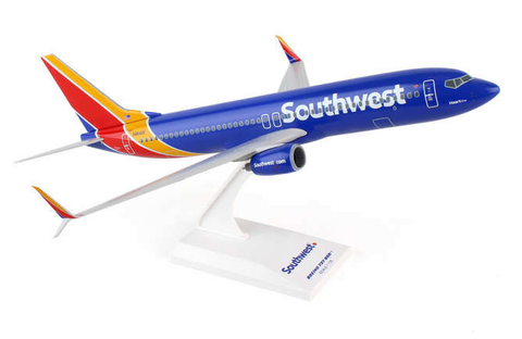 "Skymarks Southwest Airlines ""Heart One"" Boeing 737-800s 1/130 Plastic Model - RW Hobbies"