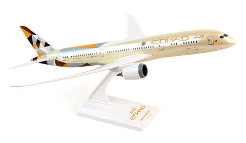 Skymarks Etihad Airways Boeing 787-9 Dreamliner 1/200 Plastic Model - RW Hobbies