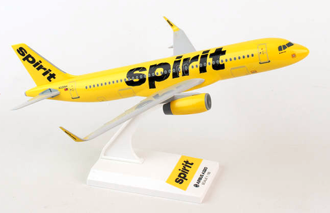 Skymarks Spirit Airlines Airbus A320-200 1/150 Plastic Model - RW Hobbies
