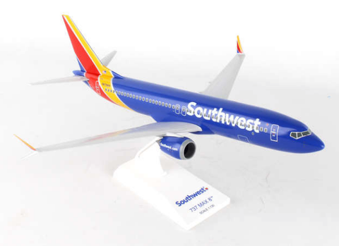 Skymarks Southwest Airlines Boeing 737-MAX8 1/130 Plastic Model - RW Hobbies