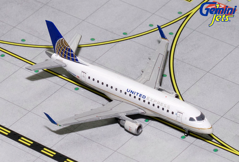 1/400 GeminiJets United Express Embraer ERJ-170 Diecast Model - RW Hobbies