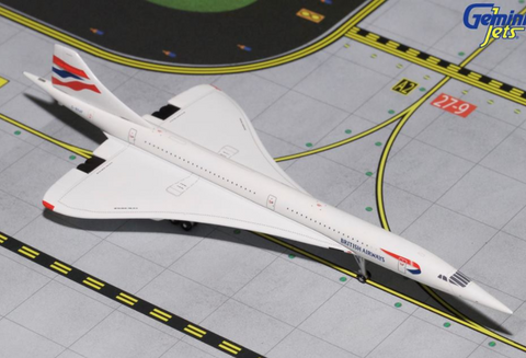 1/400 GeminiJets British Airways Aerospatiale Concorde Diecast Model