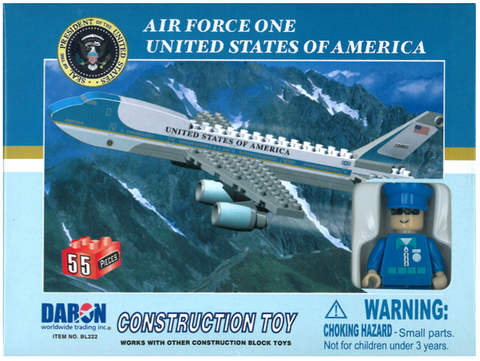 Best-Lock Air Force One 55 Piece Construction Toy - RW Hobbies