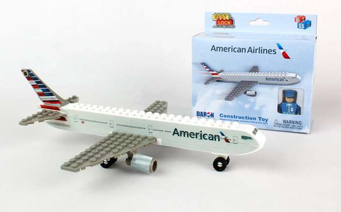 Best-Lock American Airlines 55 Piece Construction Toy - RW Hobbies